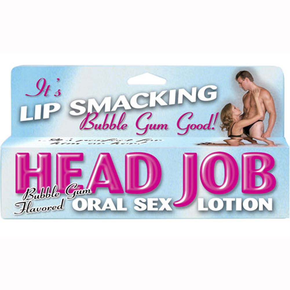 Head Job Oral Sex Lotion Tube Bubble Gum 1.5 Fl. Oz. - View #1