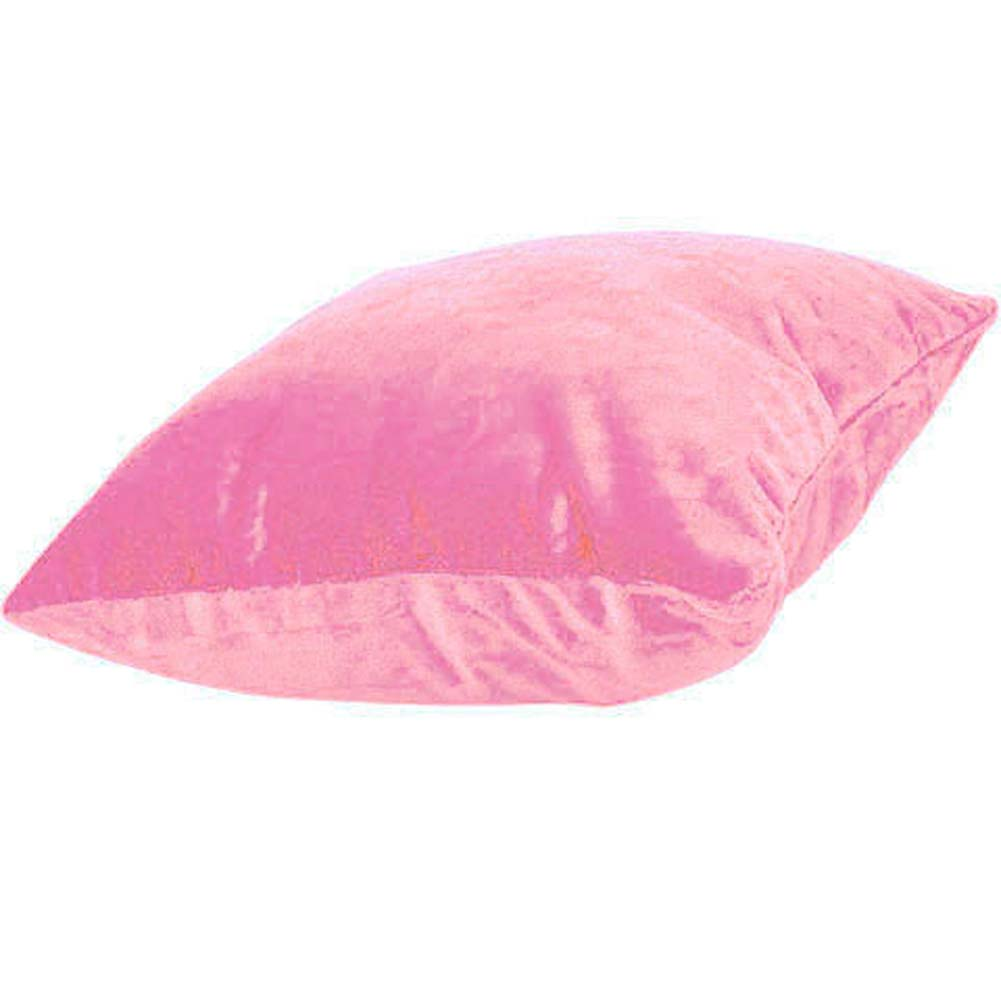 Hide Your Vibe Zipper Small Pillow Light Pink - View #2