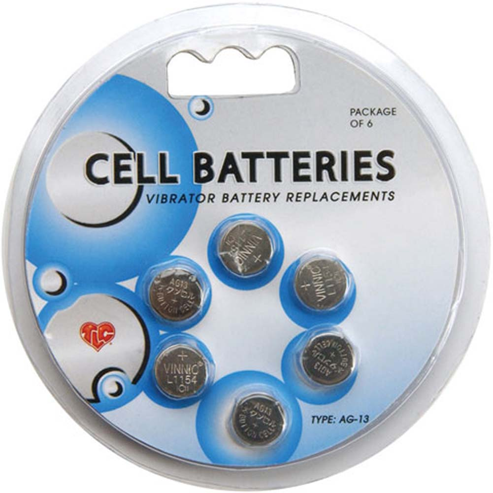 Sex Cells TLC AG13 Cell Batteries 6 Pack - View #1