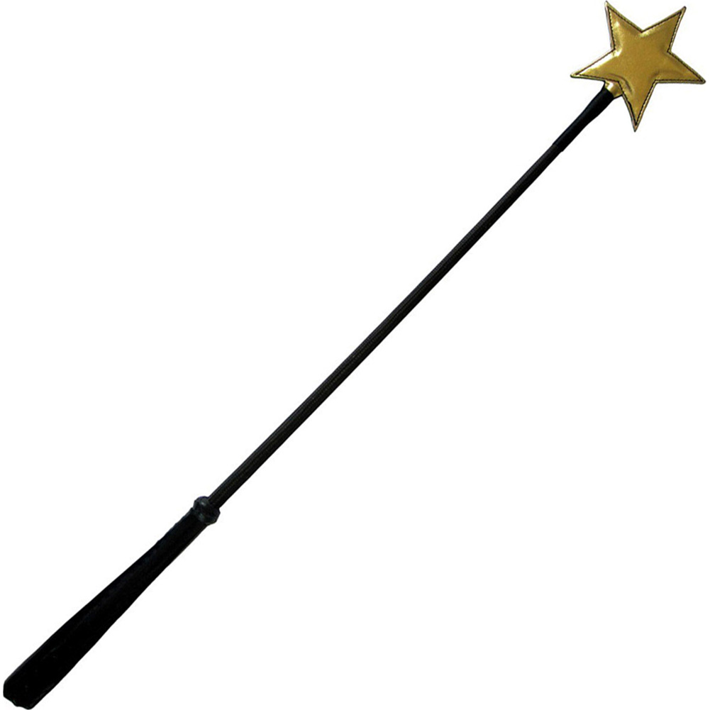 "Shining Star Riding Crop 24"" Black/Gold - View #2"