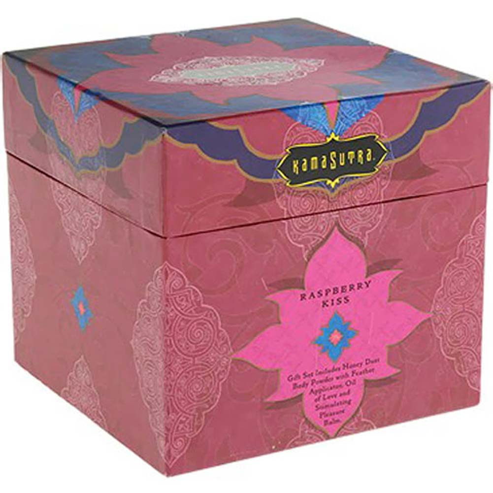 Kama Sutra Treasure Trove Sensual Gift Set Raspberry Kiss - View #4