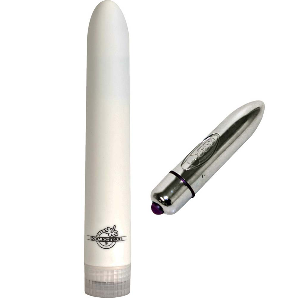 Multispeed White Nights Vibrator with Turbo Bullet Bundle - View #2