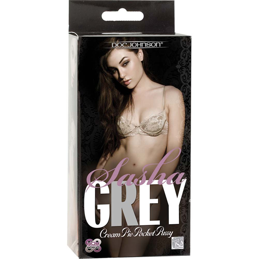 Sasha Grey Cream Pie Pocket Pussy and ID Glide Lube 4.4 Oz. - View #4
