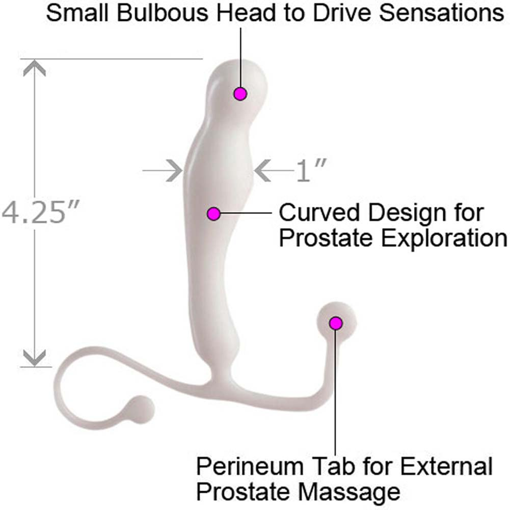 ANEROS EUPHO PROSTATE MASSAGER with Gun Oil 2oz Lubricant Combo - View #1