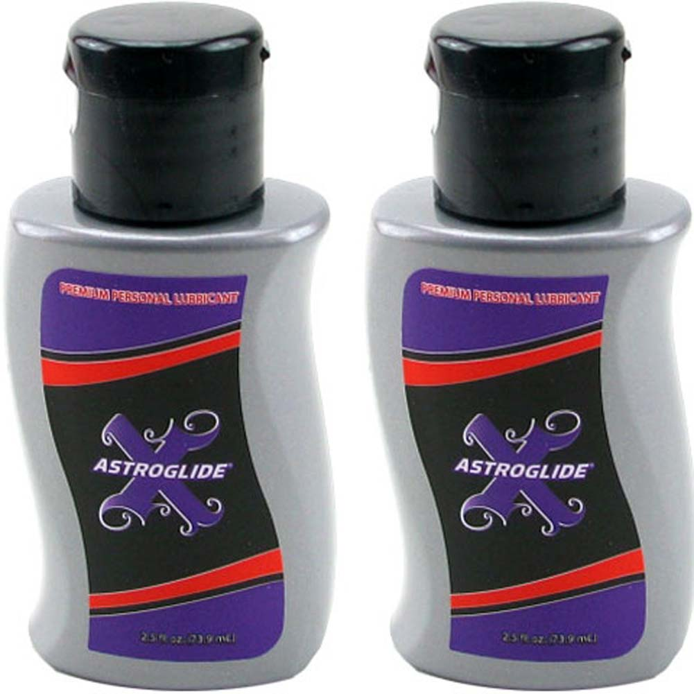 Astroglide X Silicone Lube 2.5 Fl.Oz Bottles Pack of 2 - View #1
