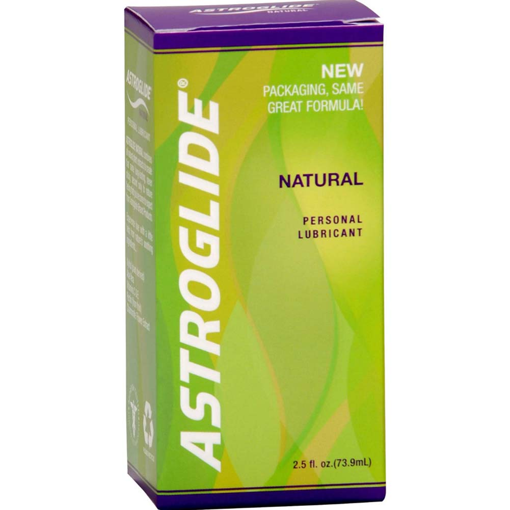 Astroglide Natural Personal Lubricant 2.5 Fl. Oz. Bottles Pack of 3 - View #3