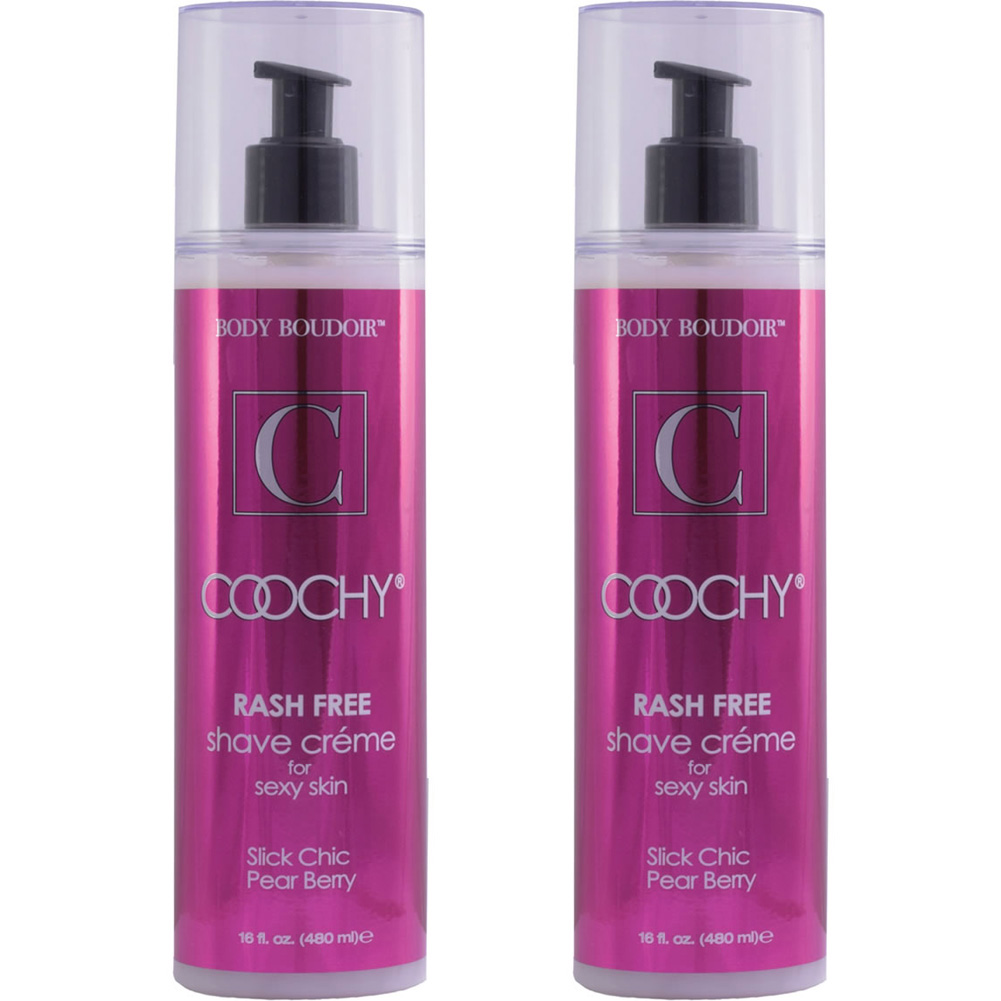 Coochy Rash Free Shave Creme Slick Chic Pear Berry 16 Fl. Oz Bottles Pack of 2 - View #2