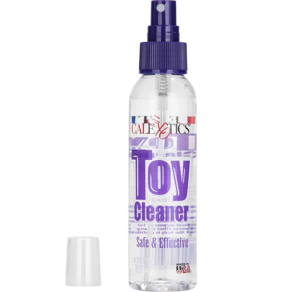 Multi Speed Body Magic Wand Massager 4 Oz Anti-Bacterial Spray Toy Cleaner - View #4