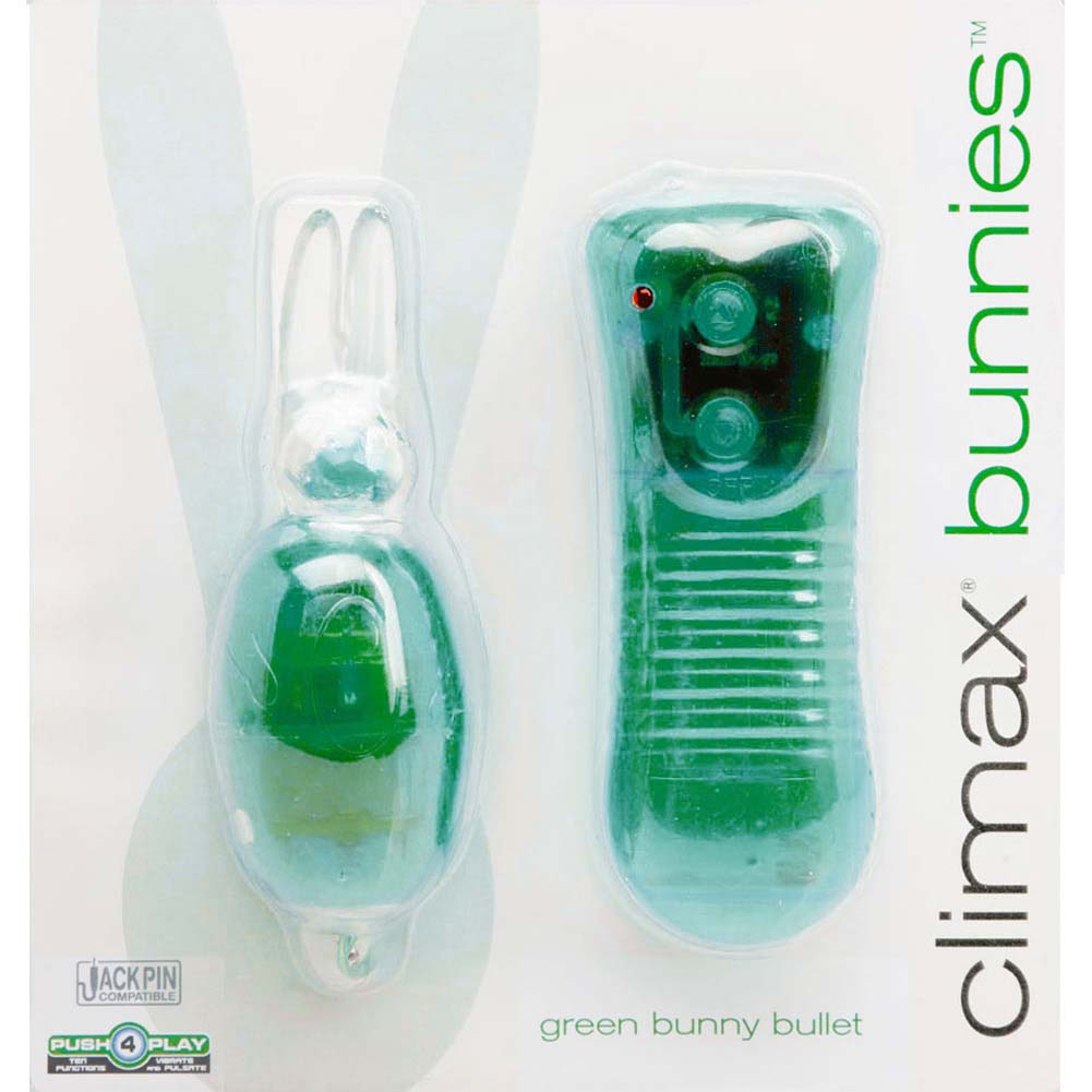 Climax Bunnies Green Bunny Bullet 2 Pack - View #1