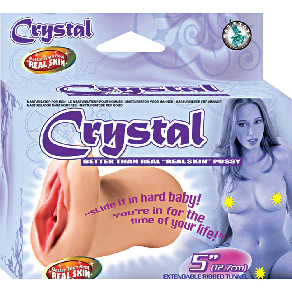 Better Than Real Skin Pussy Crystal 2 Pack - View #1