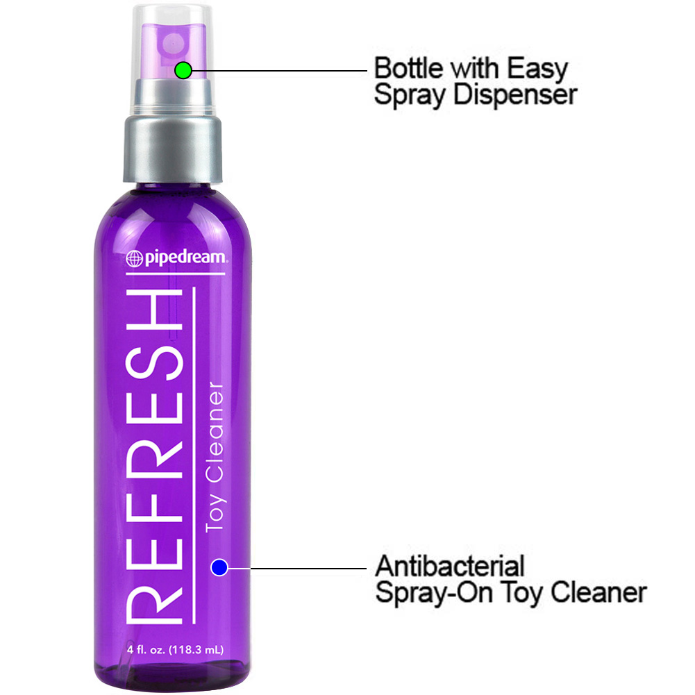Refresh Anti-Bacterial Toy Cleaner Size 4 Oz Pack of 2 - View #1