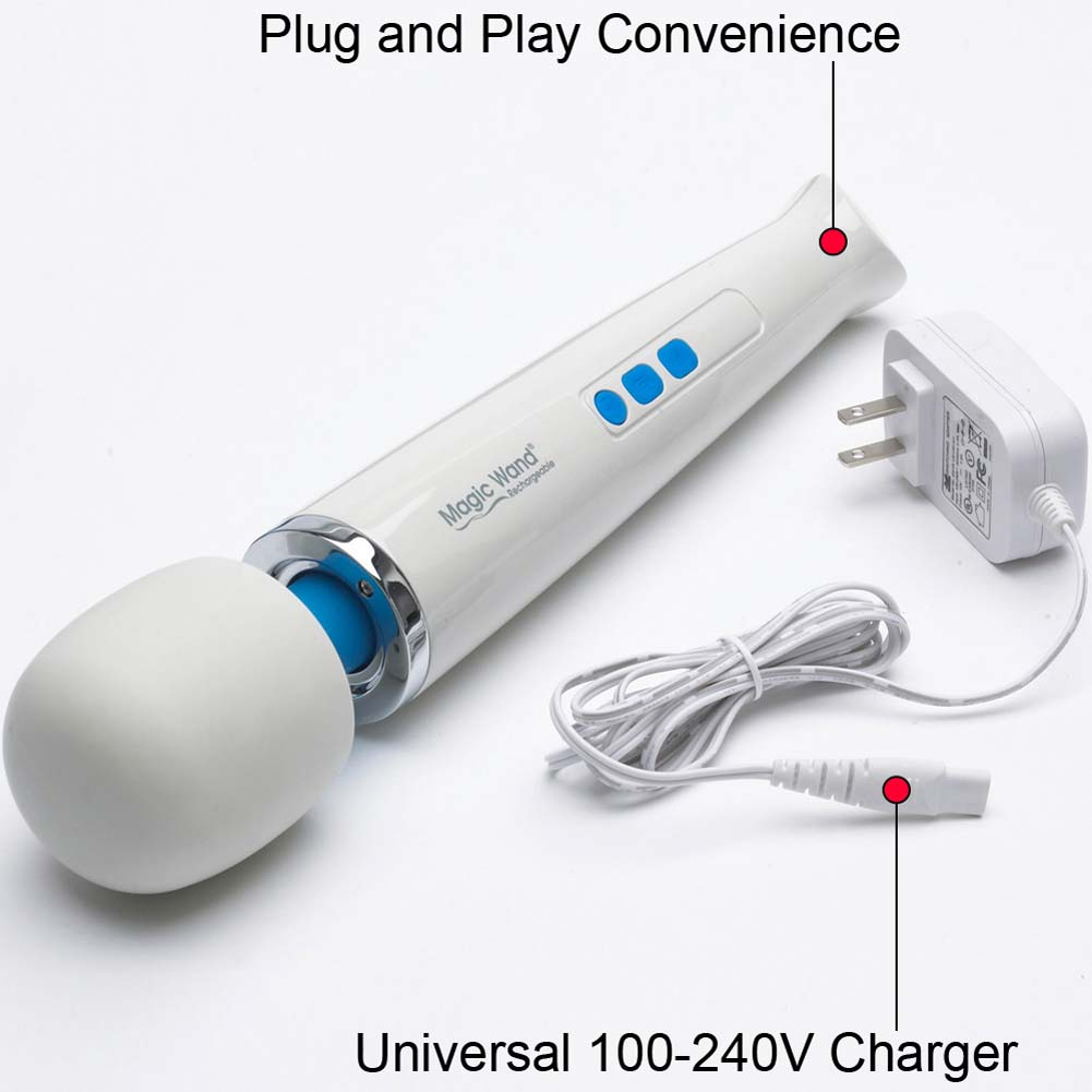 Rechargeable Magic Wand Original Premium Body Wand Massager with 4 Fl.Oz Toy Cleaner - View #3