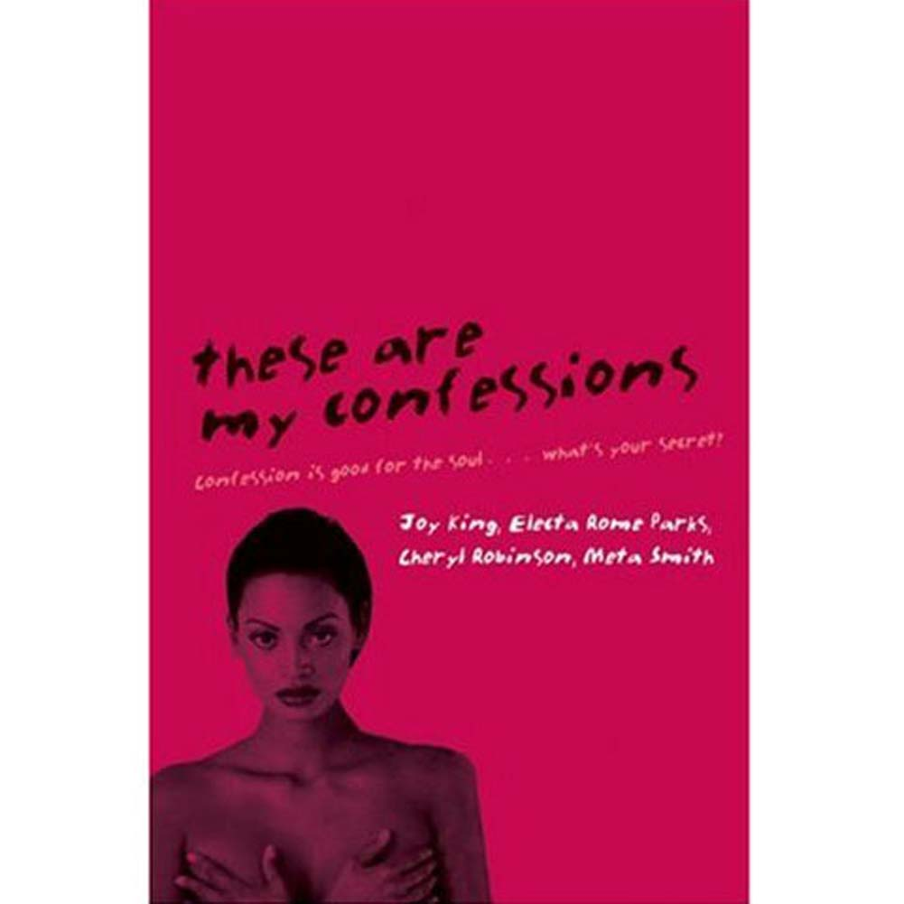 These Are My Confessions Book - View #1