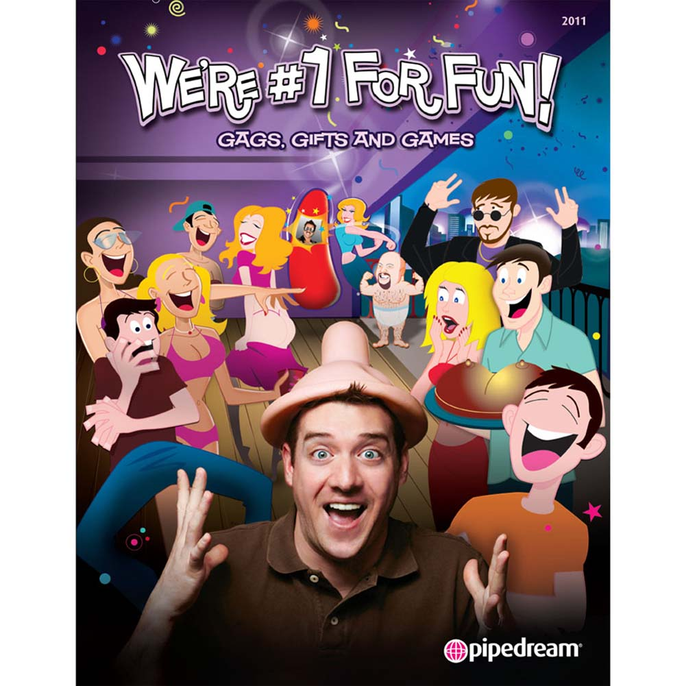 Pipedream We Are No. 1 For Fun 2011 Catalog - View #1
