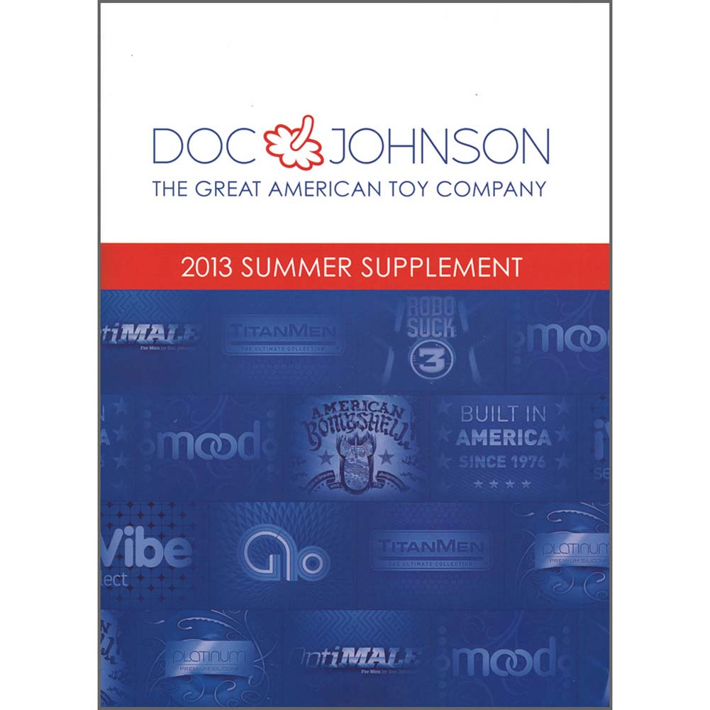 Doc Johnson Summer 2013 Supplement Catalog - View #1