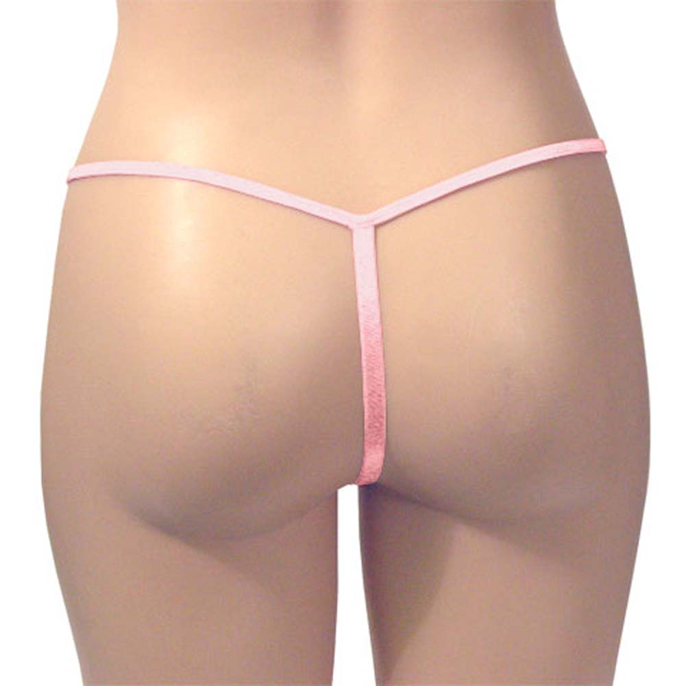 G-String Panty Lotus Blush - View #3