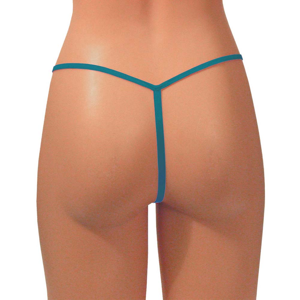G-String Panty Teal - View #2