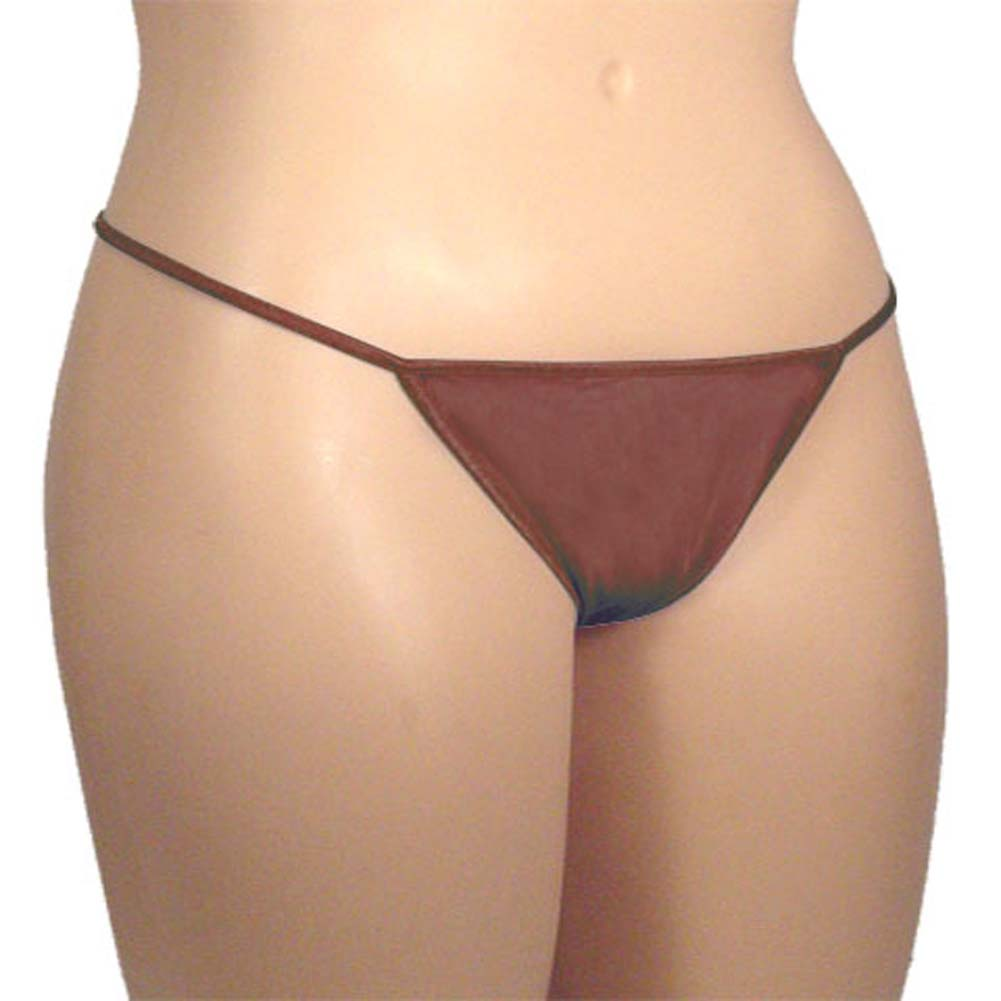 G-String Panty Espresso Plus Size - View #2