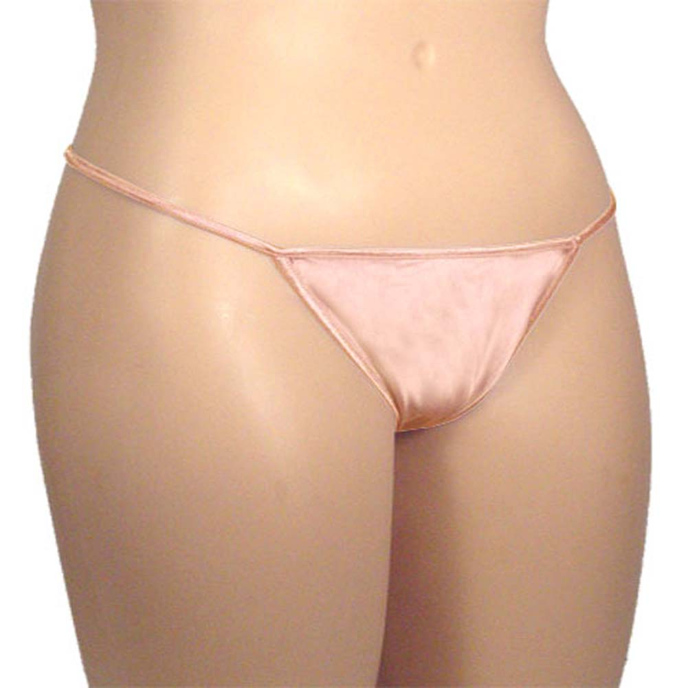 G-String Panty Light Pink Plus Size - View #2