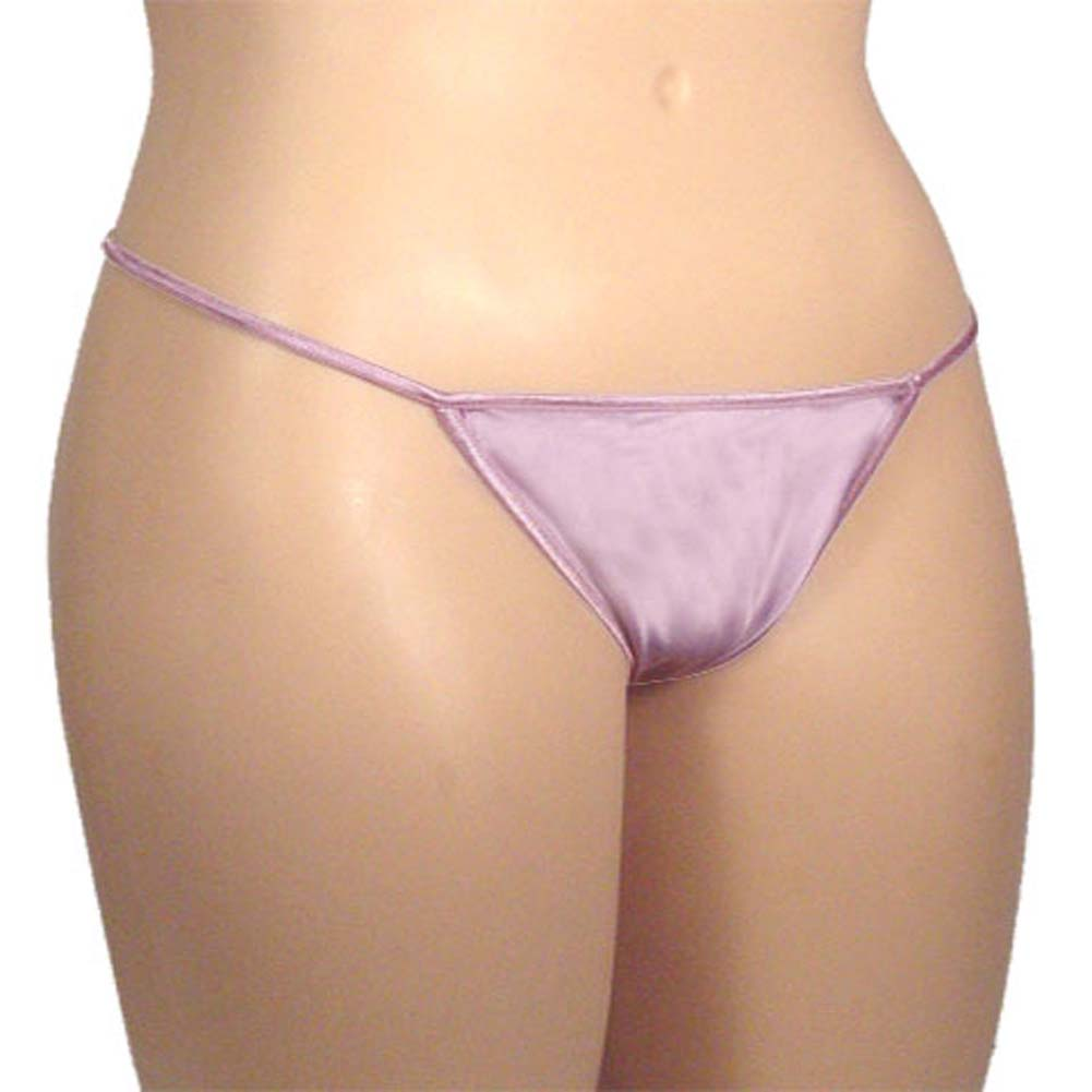 G-String Panty Lavender Plus Size - View #2
