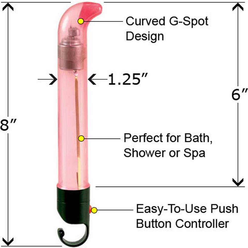 "Water Play G-Spot Vibe 6"" Pink - View #1"