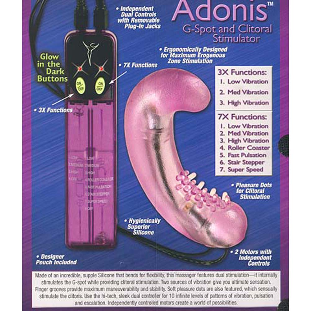 Berman Center Adonis Silicone G-Spot and Clitoral Stim - View #3