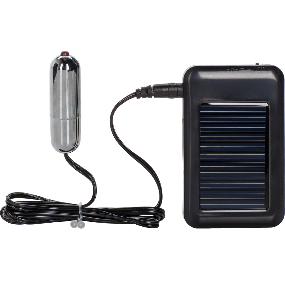 California Exotics Rechargeable Solar Powered Vibrating Silver Bullet - View #2