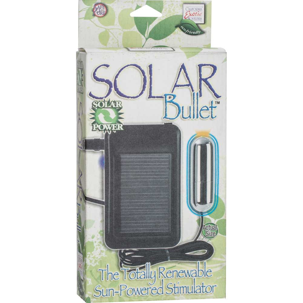 California Exotics Rechargeable Solar Powered Vibrating Silver Bullet - View #4
