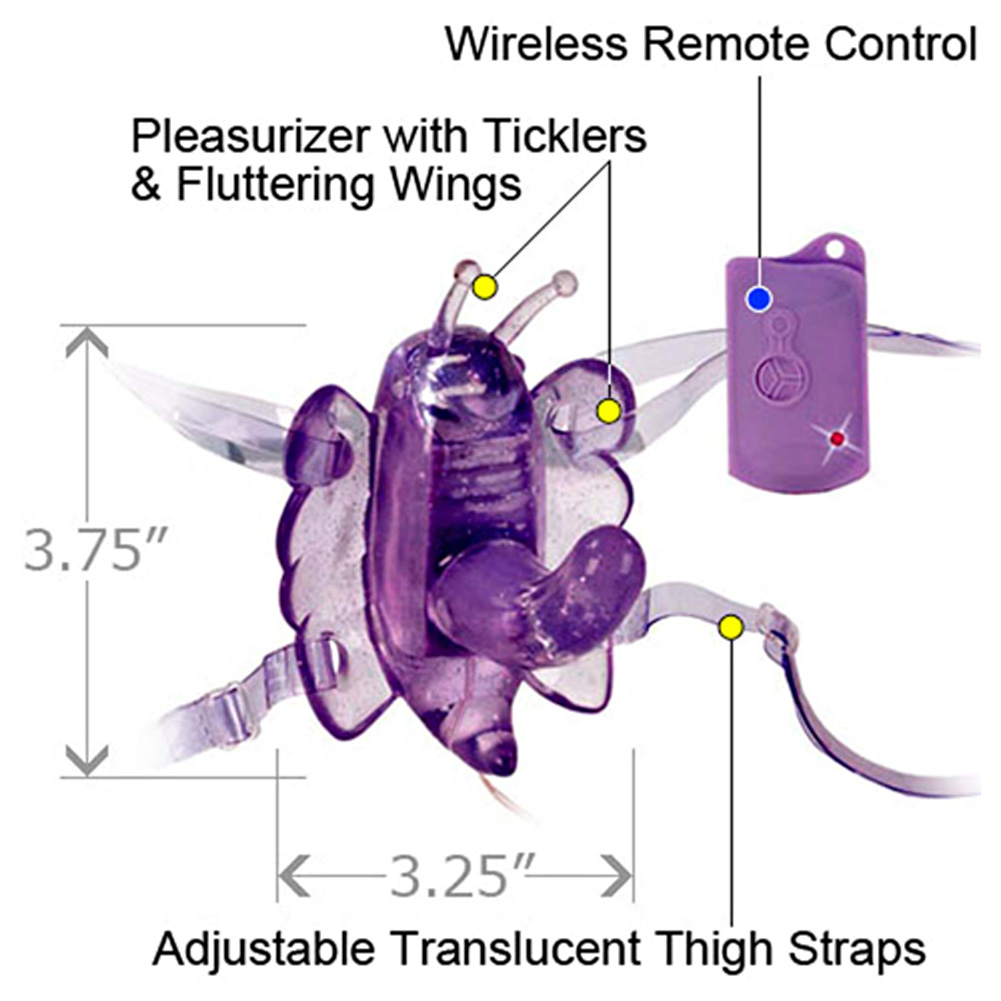 CalExotics Wireless Remote Control Venus Penis G Vibe Lavender - View #1