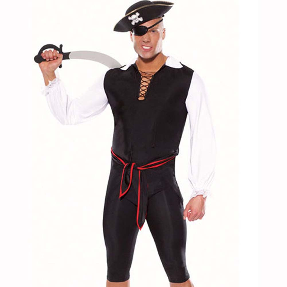 Pirate 5 Piece Costume Set L/XL - View #2