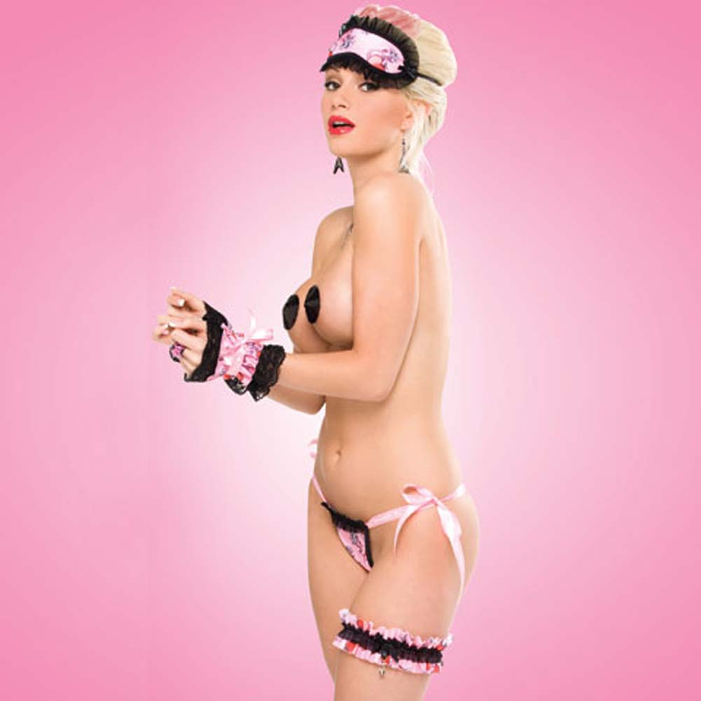 Penthouse Naughty Pet Gift Set Tattoo Heart Print - View #2