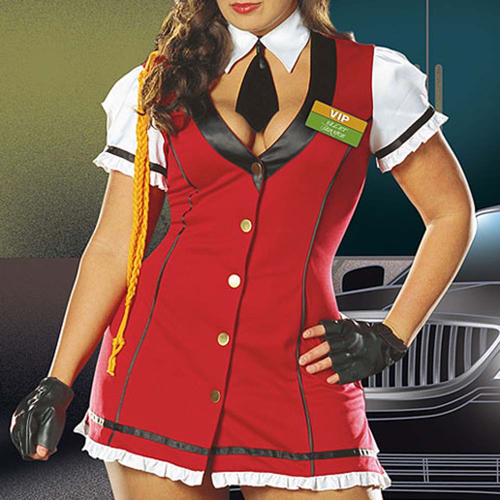 VIP Valet Service Costume Plus Size 1X/2X - View #4