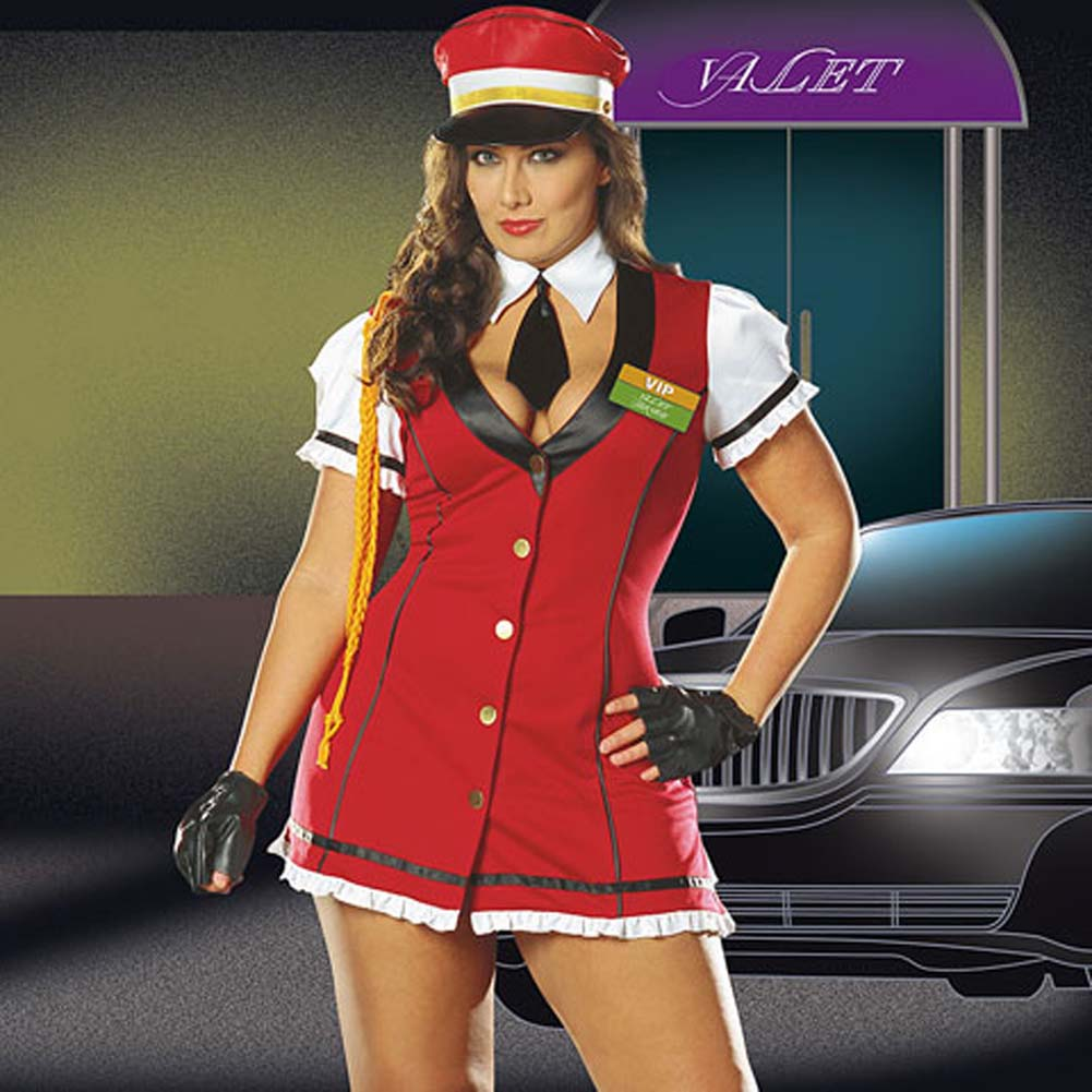 VIP Valet Service Costume Plus Size 3X/4X - View #1