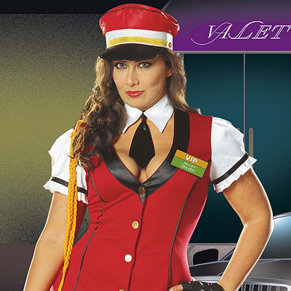 VIP Valet Service Costume Plus Size 3X/4X - View #3