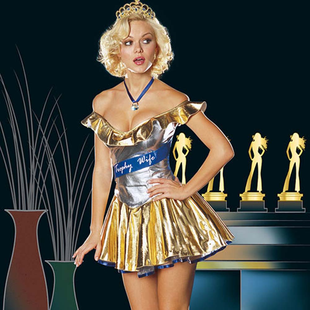 Trophy Wife Costume Small - View #1