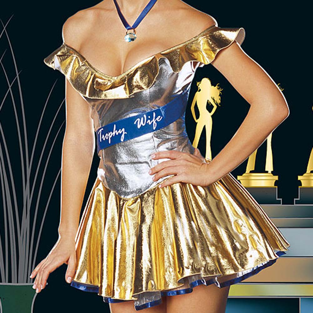Trophy Wife Costume Large - View #3
