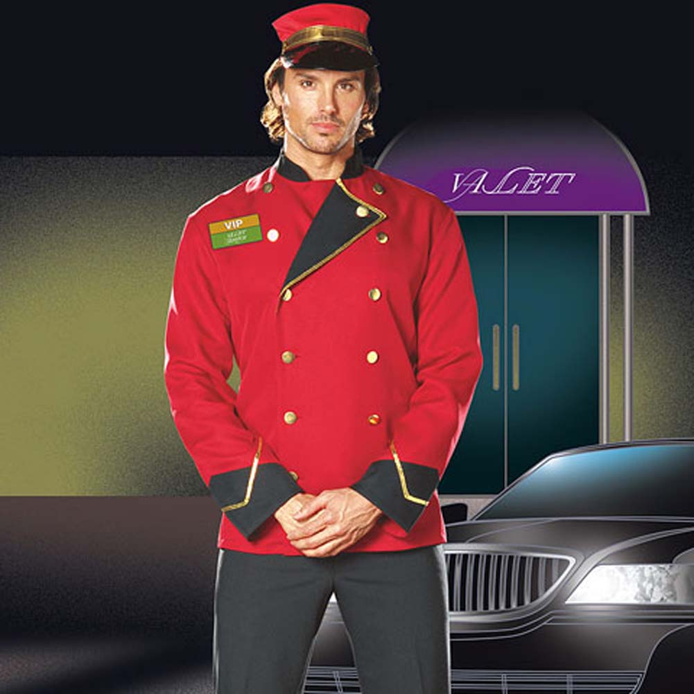 Mr. VIP Valet Male Costume Large - View #1