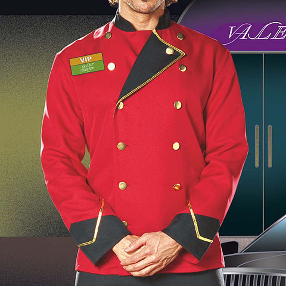 Mr. VIP Valet Male Costume Large - View #3