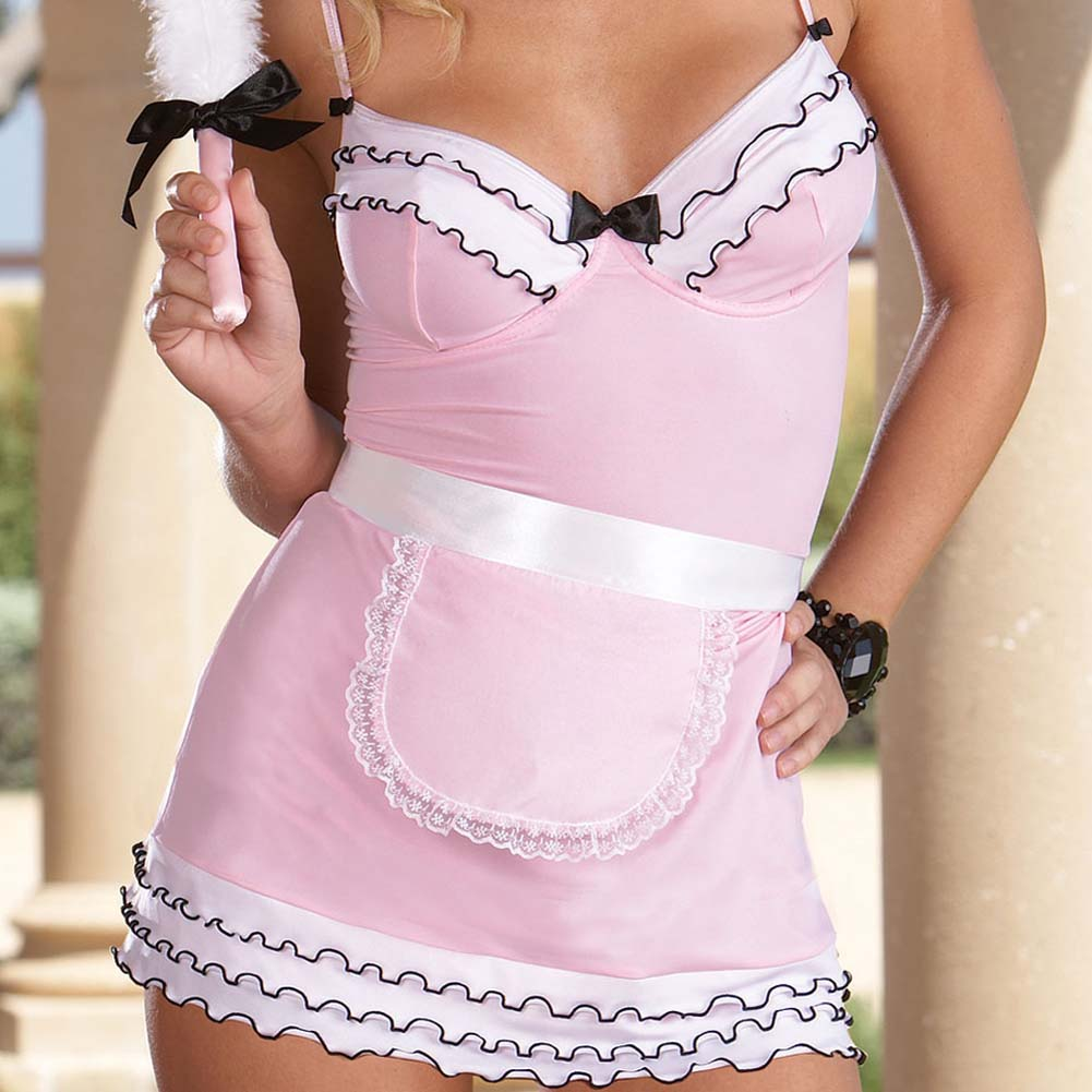 Server Style Chemise Set with Essentials Pink PS 1X/2X - View #3