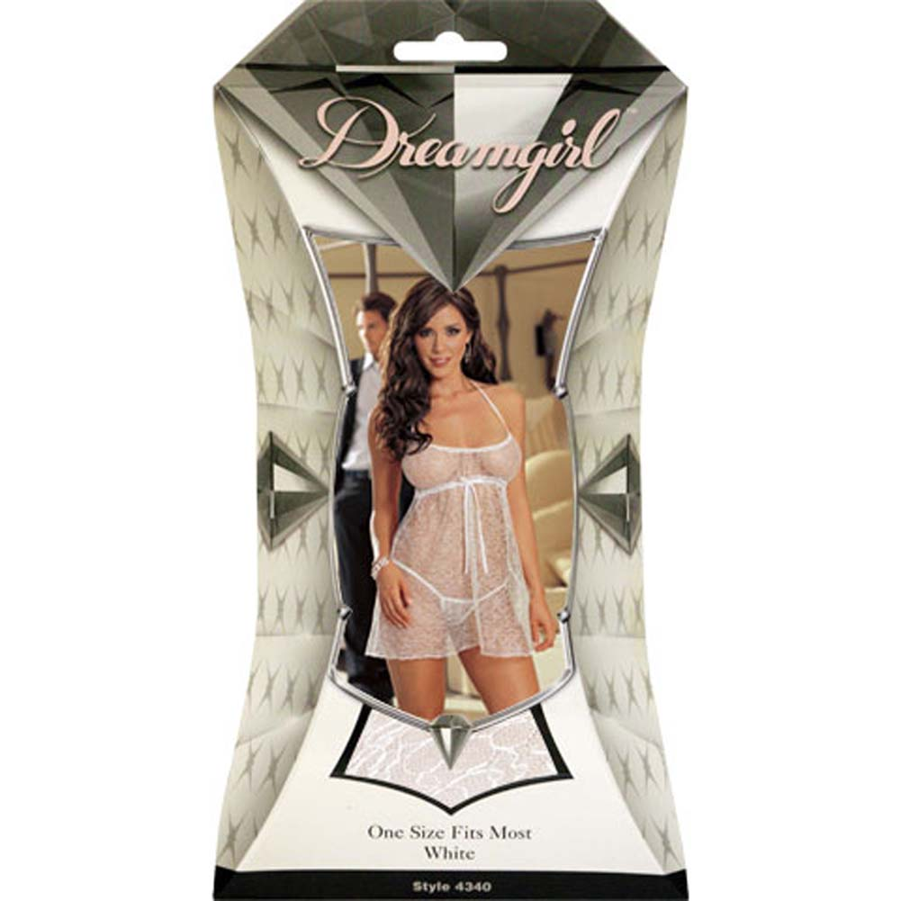 Wedding Night Babydoll Set White - View #1