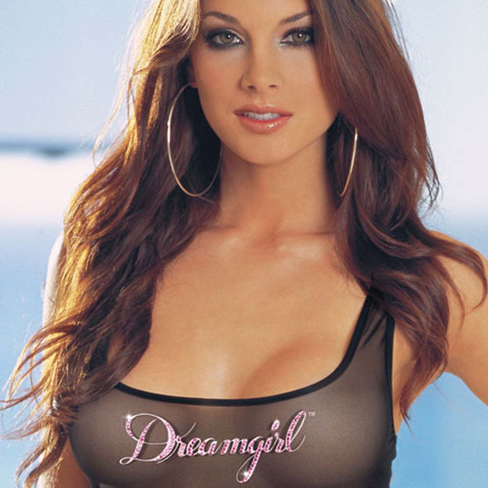 Dreamgirl Tank Dress and Thong Set Medium - View #3