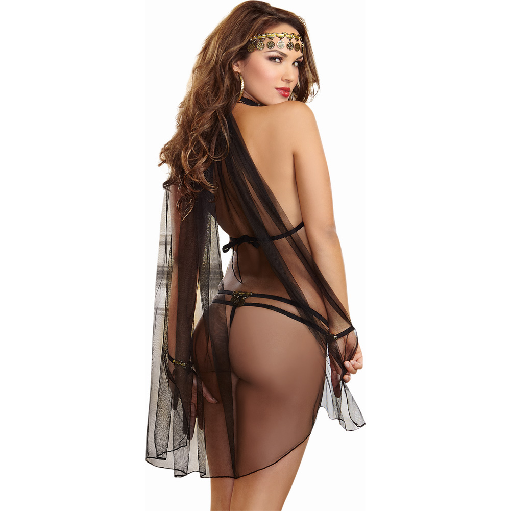 Dreamgirl Gypsy Dancer Costume Set One Size - View #2