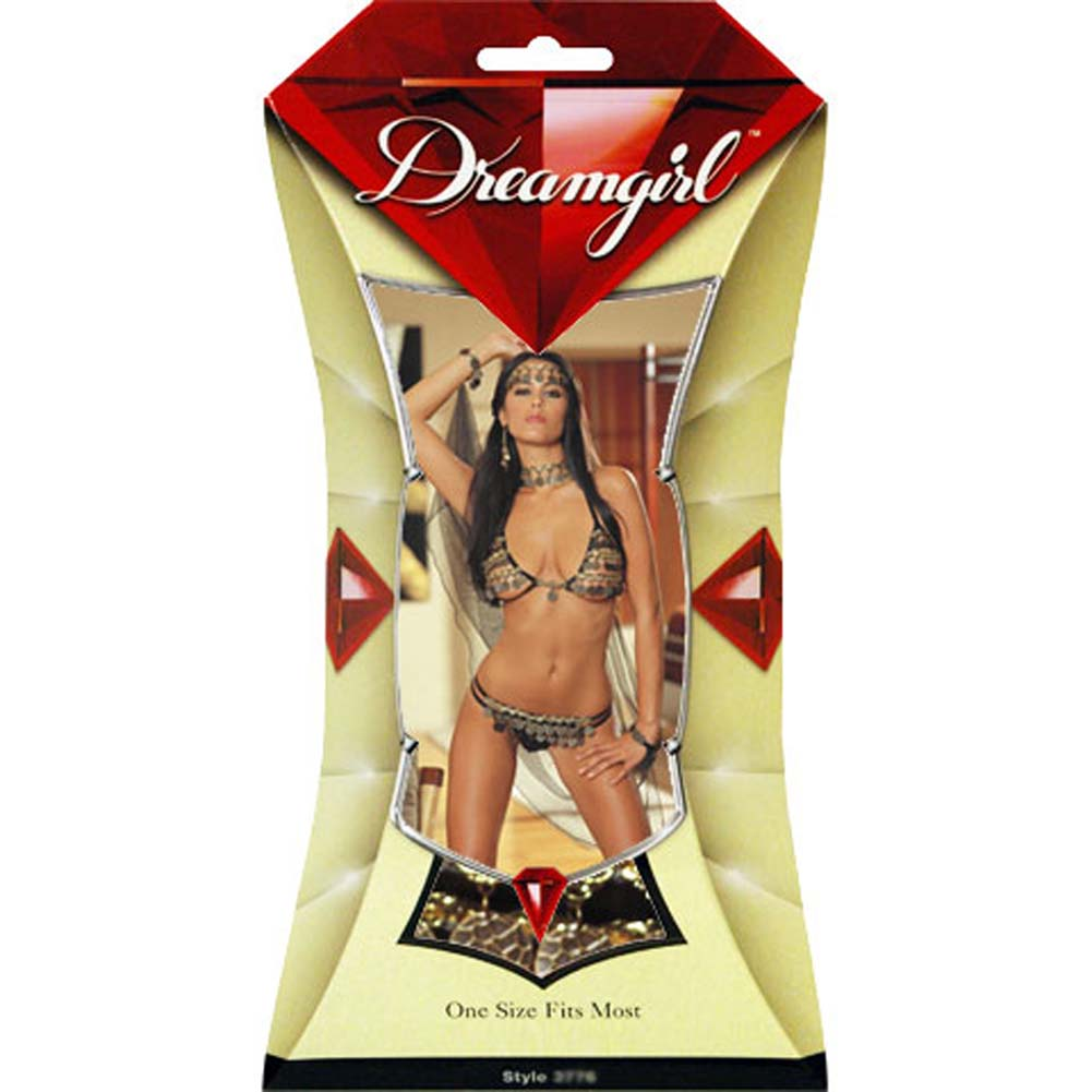 Dreamgirl Gypsy Dancer Costume Set One Size - View #4