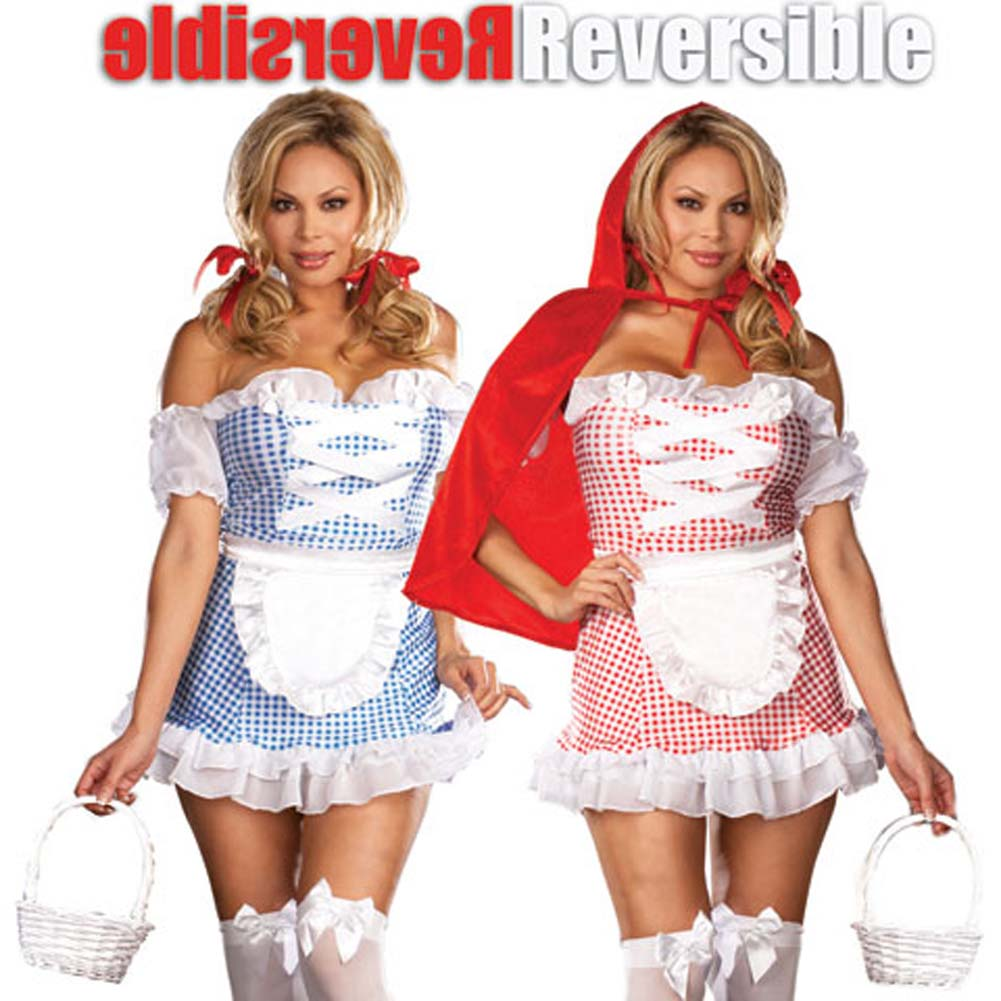 Fully Reversible Happily Ever After Costume Plus Size 3X/4X - View #1