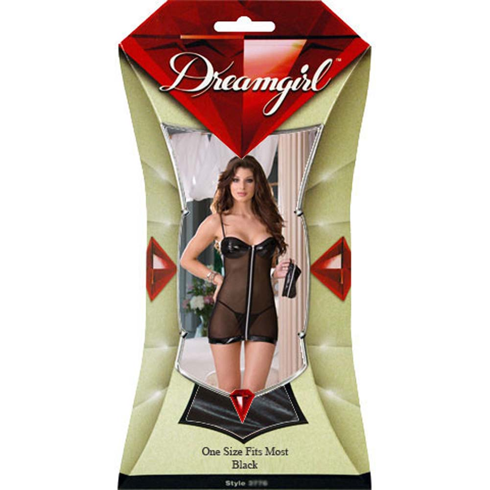 Time to Get Naughty Nightwear with Panty and Mask - View #4