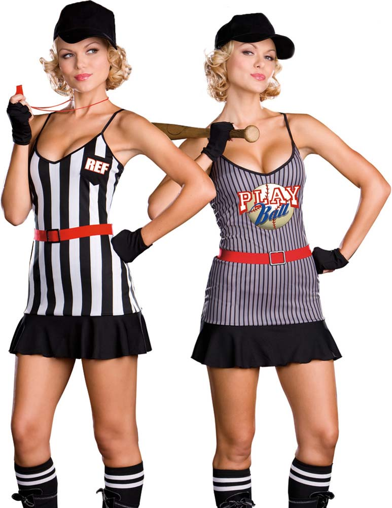 Fully Reversible Double Play Sports Costume Medium - View #1