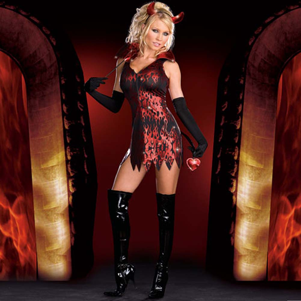 Devilicious Costume Large - View #2