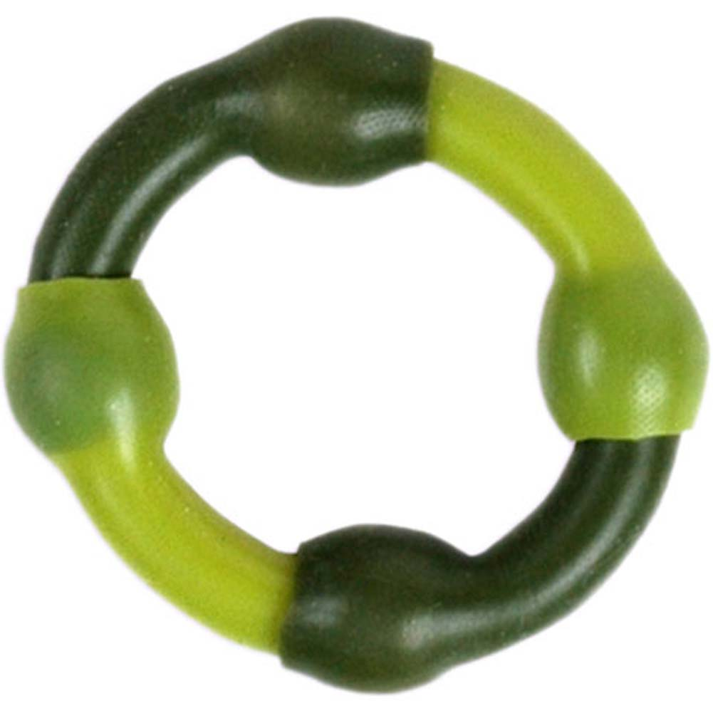 Love Ring Silicone Camouflage Green - View #2