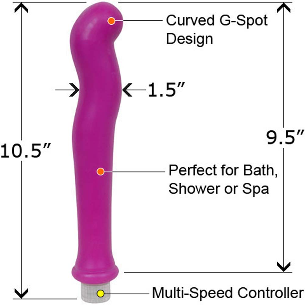 "XXL European Collection Waterproof G-Spot Vibe 10.5"" - View #1"