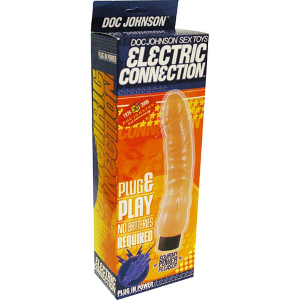 "Squirmy Power Pleaser AC Electric Vibe 8.5"" Natural - View #3"